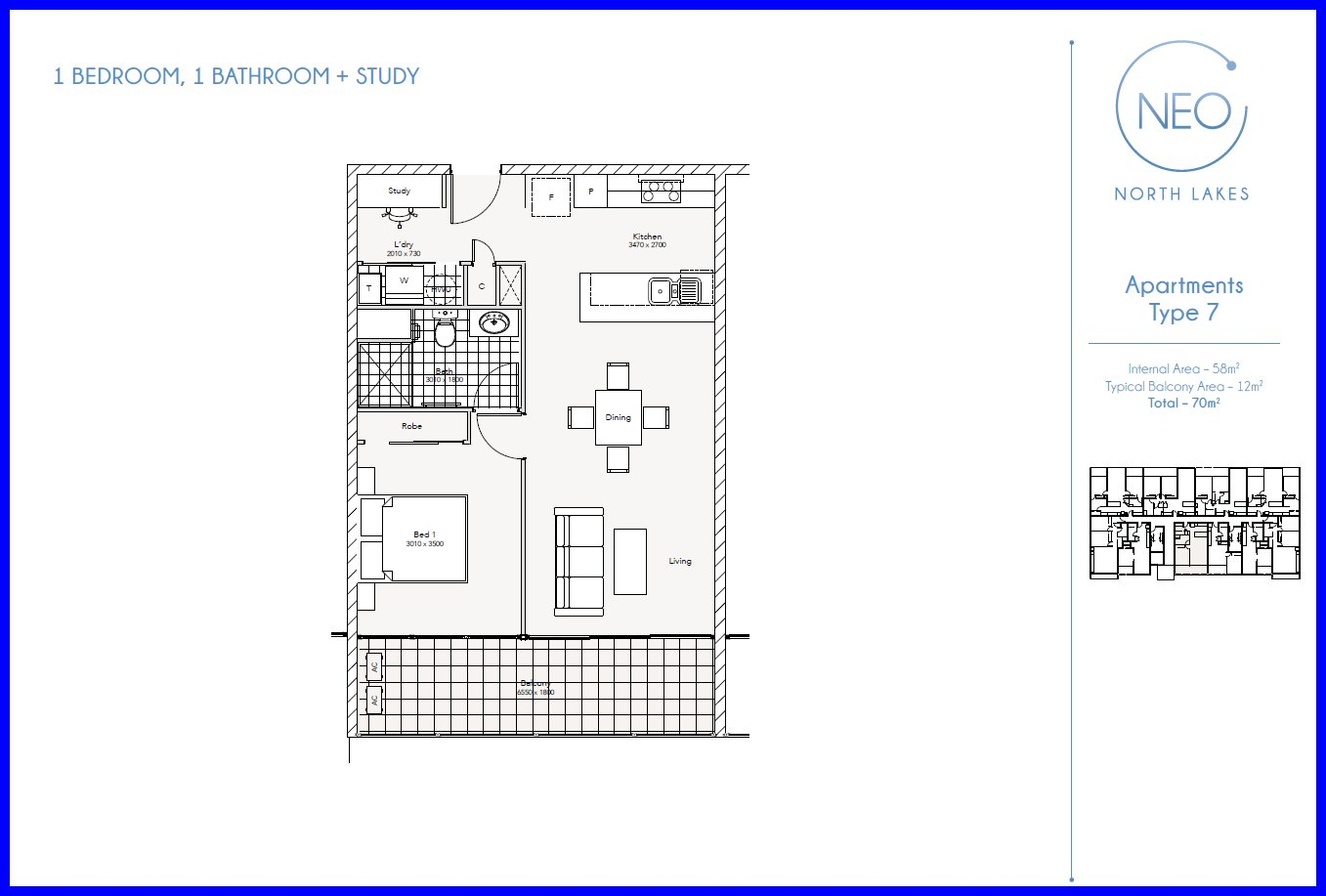 One Bedroom Apartment Floor Plans Neo North Lakes Apartments Northlake Units